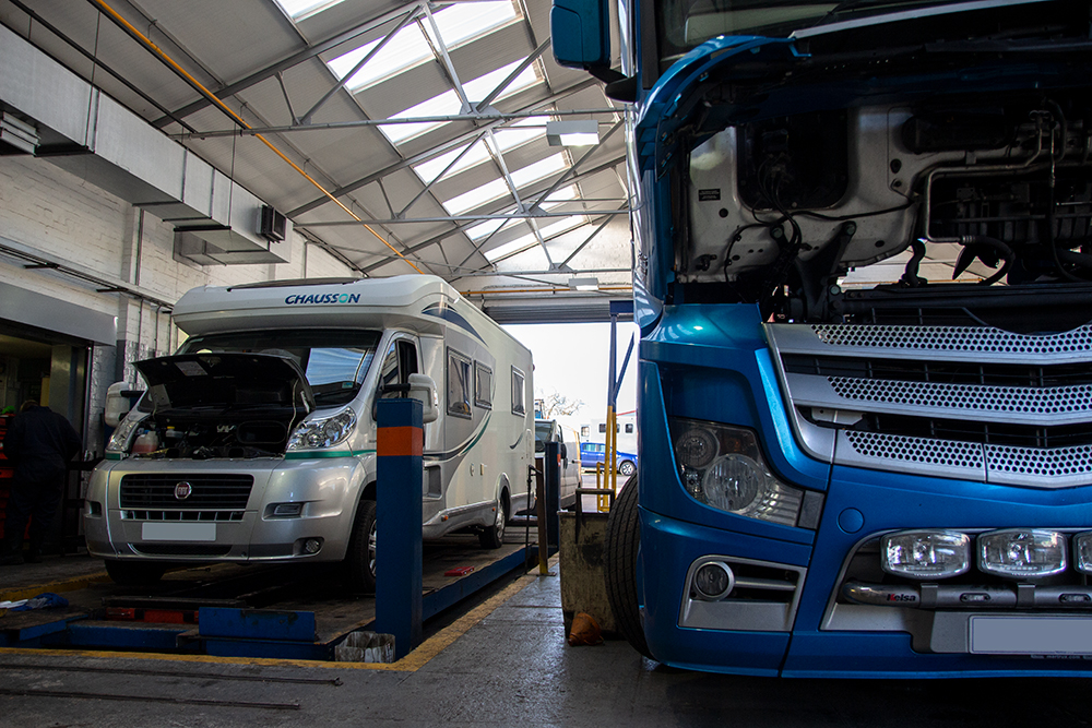 Camper, lorry, motorhome service and repairs nottingham